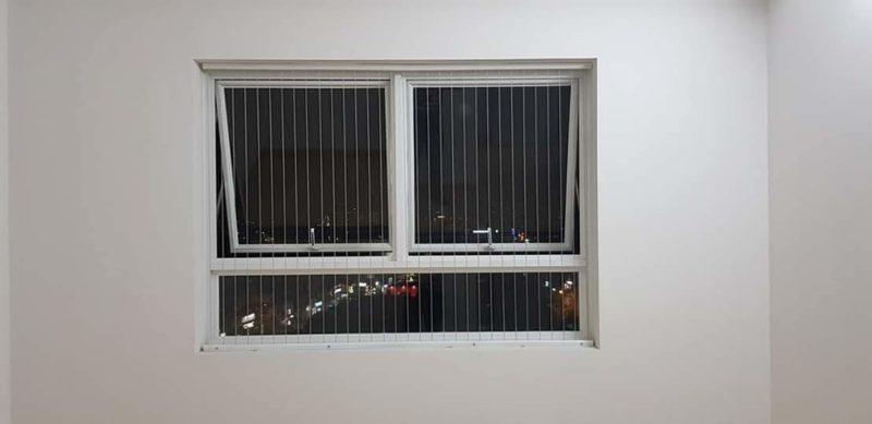 lưới bảo vệ chung cư