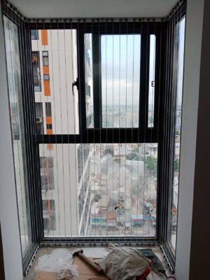 lưới bảo vệ ban công cho chung cư
